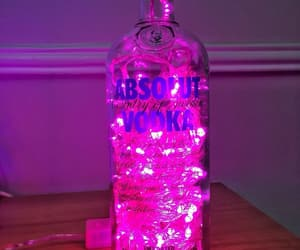 alcohol, pink, and vodka image