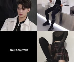 black, boy, and kpop image