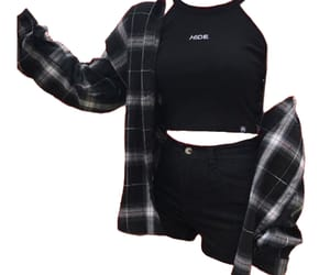 png, black, and flannel image