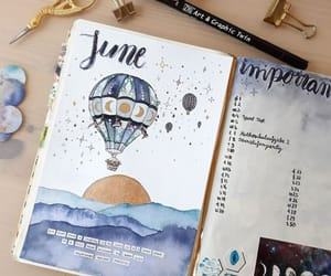 june and bullet journal image
