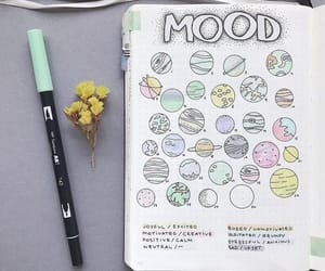 journaling, bujo, and mood tracker image
