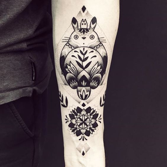 62 Images About Anime Tattoos On We Heart It See More About