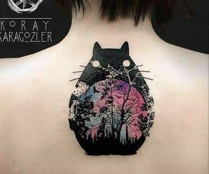 My Neighbor Totoro, anime tattoo, and totoro image