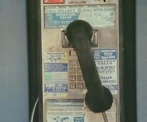 phone, ©, and vintage image