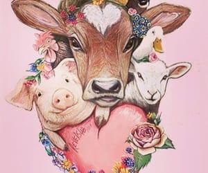 animal, vegan, and veganism image