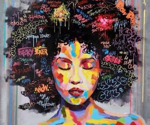 art, painting, and african american image