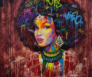 african american, painting, and art image