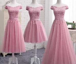 cute homecoming dresses, prom dresses pink, and prom dresses long image