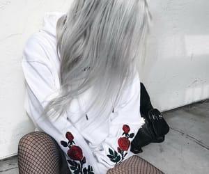 black, roses, and alternative image