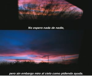 cielo, frases, and debil image
