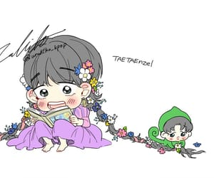 chibi, bts, and vmin image