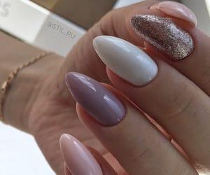nails, nice, and beautiful image