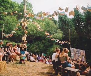 books, festival, and countryside image