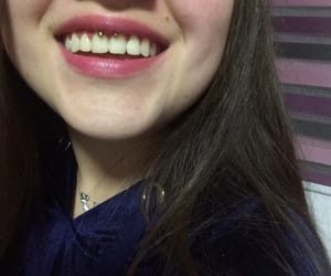 dientes, lips, and sadness image