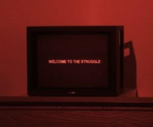struggle, grunge, and tv image