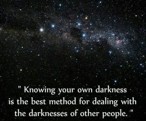 quotes, Darkness, and dark image