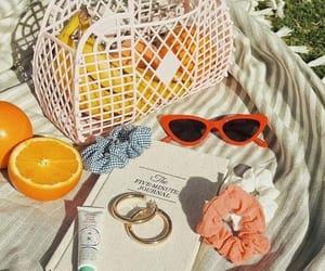summer, orange, and aesthetic image