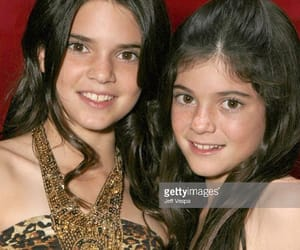celebrities, jenner sisters, and young image