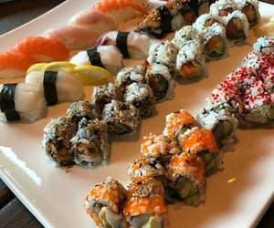 japan, japanese food, and sashimi image