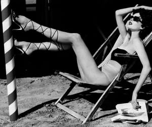 b&w, black and white, and fashion image