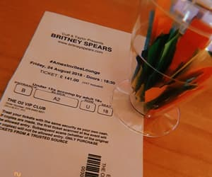 britney spears, Dream, and ticket image