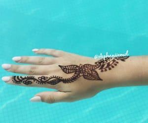 girly, luxury, and pool image