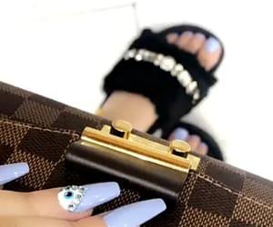 bag, nails, and shoes image