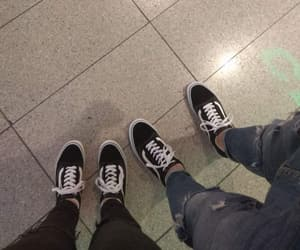 boyfriend, shopping, and vans image