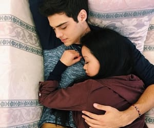 cast, peter kavinsky, and cuddle image