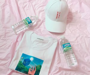 pink, style, and water image