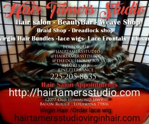 dreads, waves, and hair studio image
