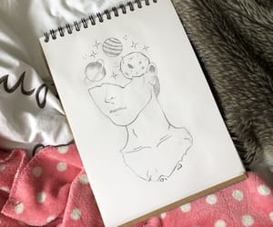 art, dessin, and draw image