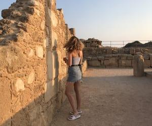 beauty, cyprus, and fashion image