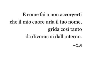 amore, quote, and nome image
