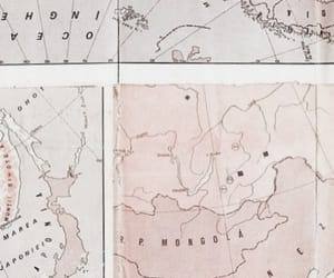 pink, map, and pastel image