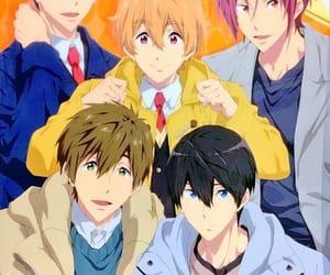 anime, free!, and free image