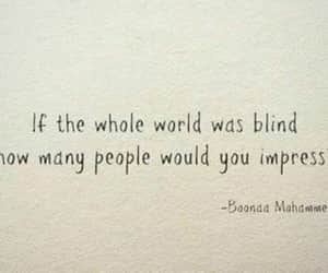 quotes, blind, and Impress image