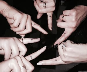 pretty little liars, pll, and tattoo image