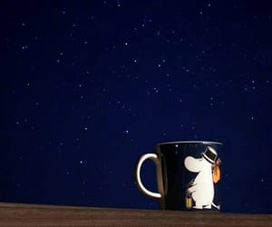 sky, coffee, and night image