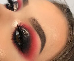 eyes, makeup, and maquillage image
