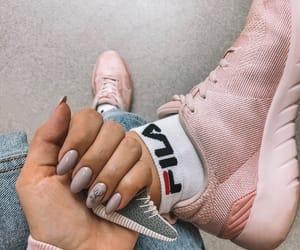 art, Fila, and manicure image