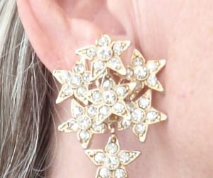 80s style, dimensional, and wedding earrings image