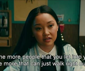 quotes, netflix, and lana condor image