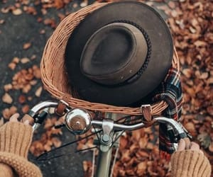 autumn, fall, and hat image