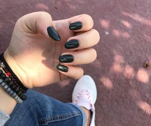 army, color, and nails image