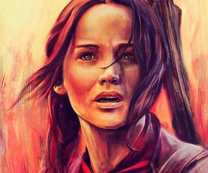 fan art, the hunger games, and fanart image