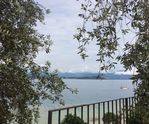 lago, lake, and sirmione image