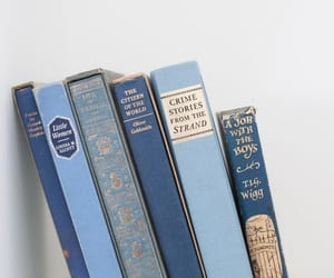 book, blue, and aesthetic image