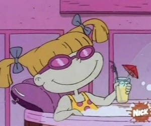 rugrats, cartoon, and angelica image