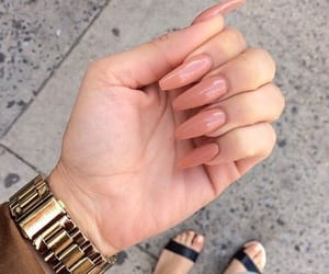 fashion, manicure, and stiletto image